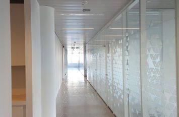 This is a project report of the European Parliament building using Line Systems Demountable Partitions.