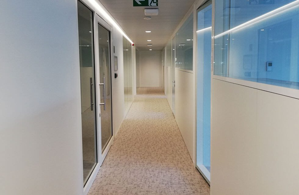 Tervuren Office Space using Line Systems